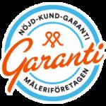 Nöjd-kund-garanti Måleriföretagen logo