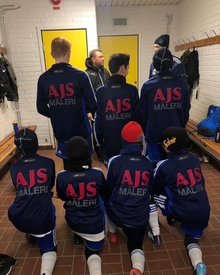 AJS Måleri AB Social engagemang fotboll